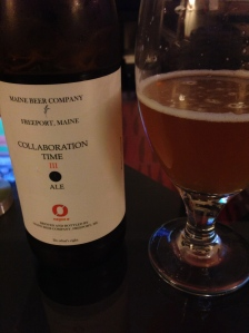 Maine Beer Company/Nogne-O Collaboration Time III Saison