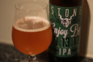 Stone Enjoy By 9/13/13, Imperial IPA, 22 oz. bottle