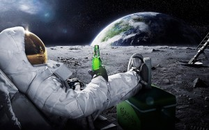 22917_3d_space_scene_astronaut_chilling_on_the_moon_with_beer