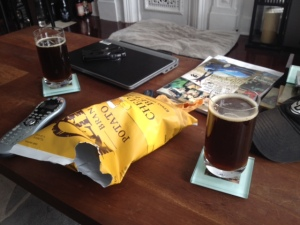 beer and beerchips