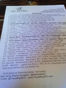 draft list