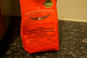 Bourbon County Stout Coffee
