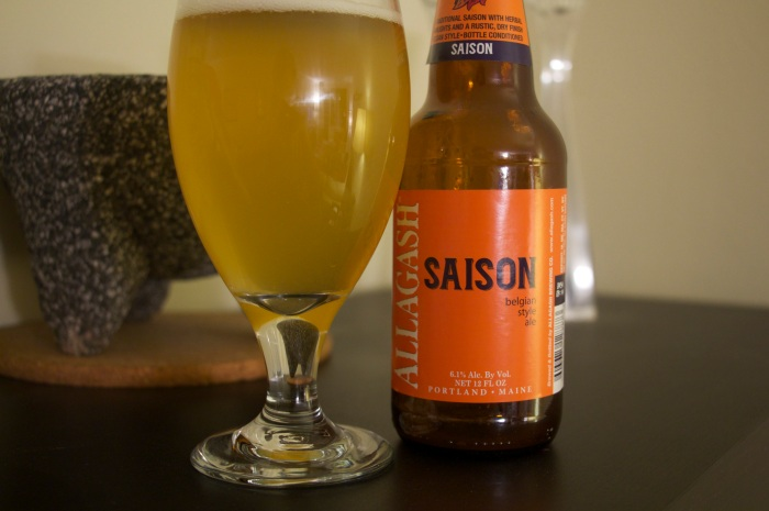 Welcome to NYC, Allagash Saison!