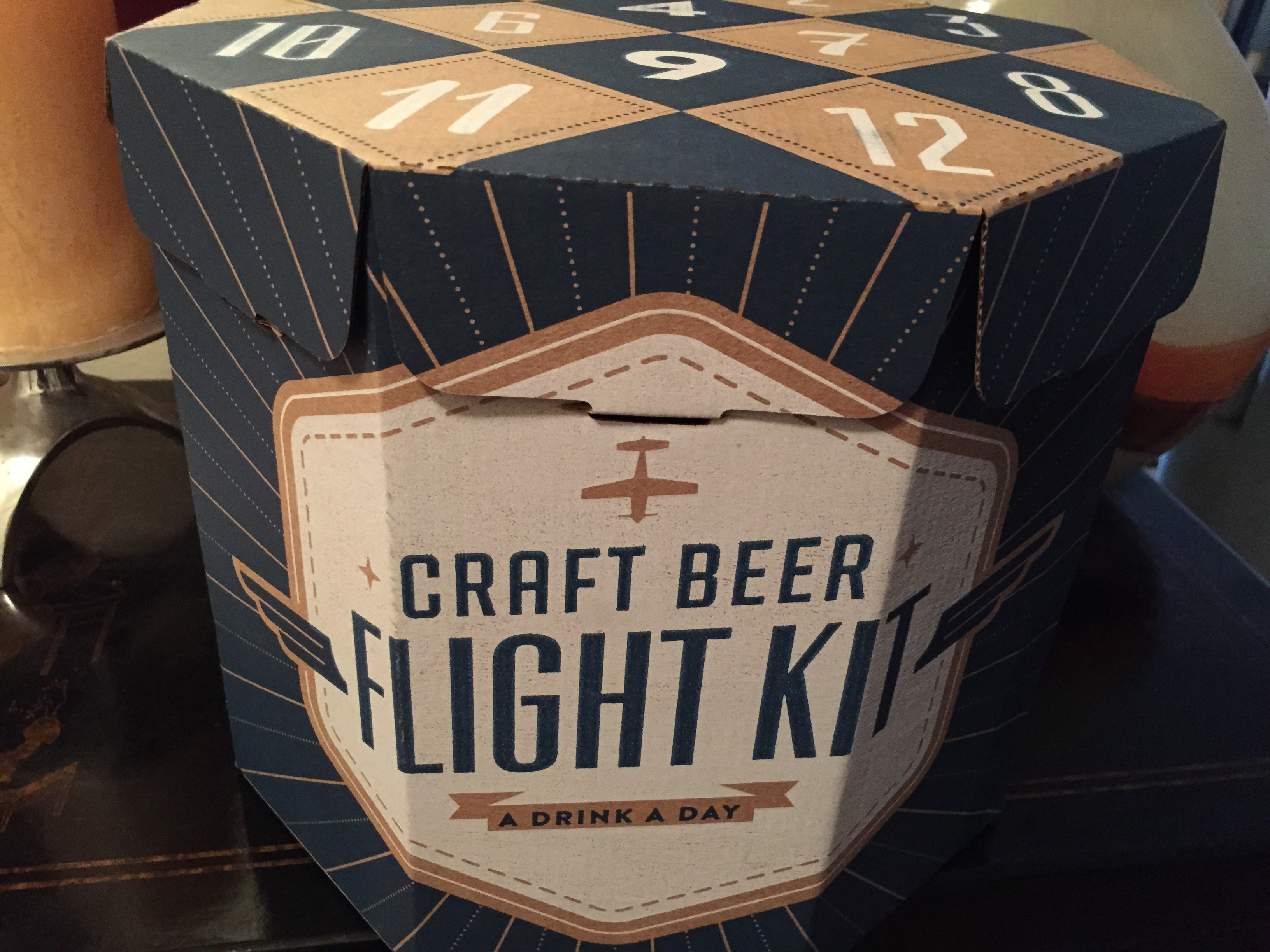 Craft beer gift box - Each Box Comes With 12 Beers In Custom Packaging With Selections Hand Picked By 9 Different Craft Beer Locations Bars Throughout The United States