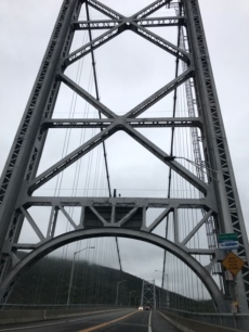 Over the Bear Mountain Bridge